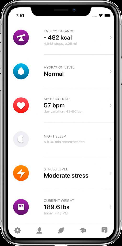 healbe_app_main_screen